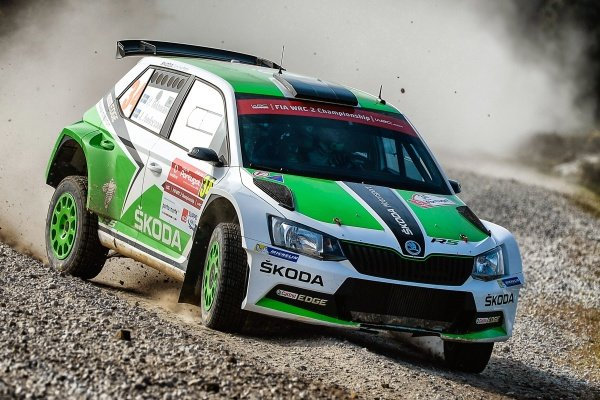 Pontus Tidemand (SWE) / Jonas Andersson (SWE), Skoda Motorsport Fabia R5 WRC2 at World Rally Championship, Rd5, Rally Portugal, Day One, Matosinhos, Portugal, 20 May 2016.
