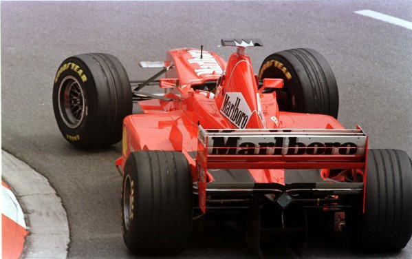 1998 Monaco Grand Prix.Monte Carlo, monaco.21-24 May 1998.Michael Schumacher (Ferrari F300).World Copyright - LAT Photographic