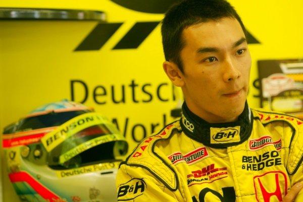 Takuma Sato (JPN) Jordan.Italian Grand Prix, Monza, 14 September 2002.DIGITAL IMAGE