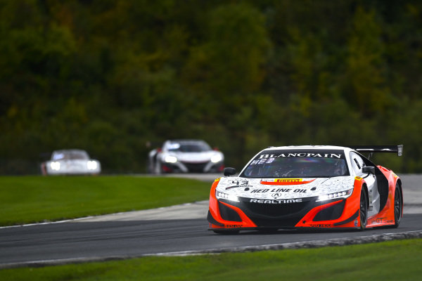 #43 Acura NSX of Mike Hedlund and Dane Cameron with RealTime Racing
