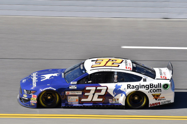 #32: Corey LaJoie, Go FAS Racing, Ford Mustang RagingBull.com
