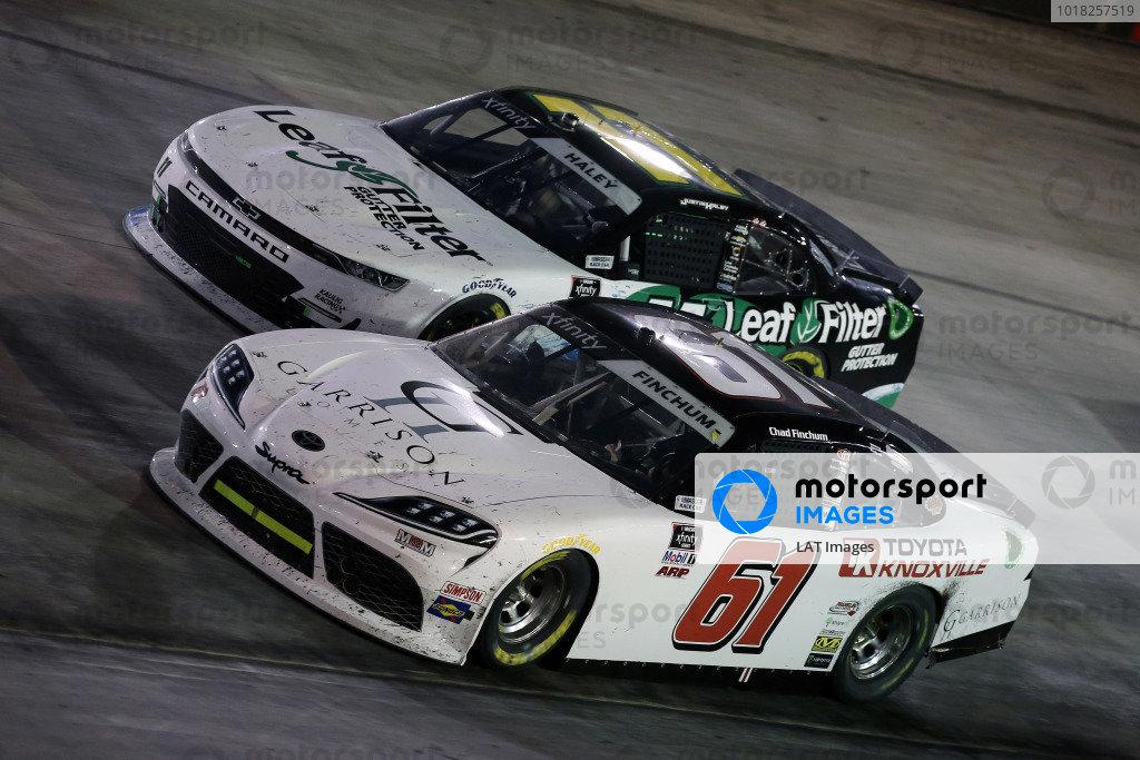 #61: Chad Finchum, Hattori Racing Enterprises, Toyota Supra TOYOTA OF KNOXVILLE