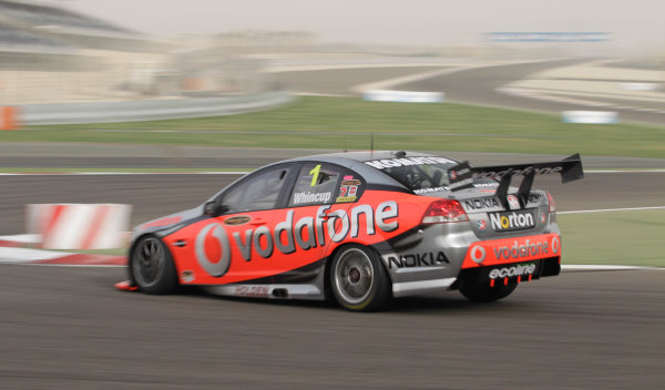 Round 2 - Gulf Air Desert 400Bahrain International Circuit, Sakhir, Bahrain.24th - 27th Febraury 2010.Jamie Whincup of Triple Eight Racing wins race 4.World Copyright: Mark Horsburgh/LAT Photographicref: Digital Image 1-Whincup-EV02-11423