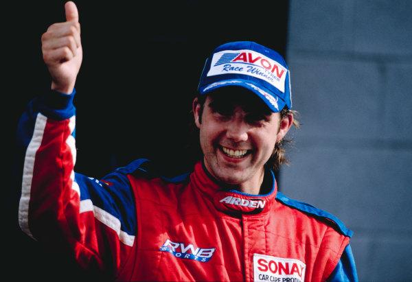2003 International F3000 - raceSilverstone, England. 20th July 2003Bjorn Wirdheim - 1stWorld Copyright - LAT Photographicref: Priority F3K A0