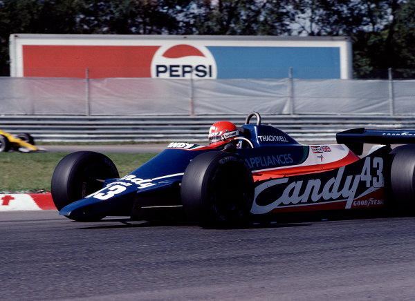 1980 Canadian Grand Prix.Montreal, Quebec, Canada.26-28 September 1980.Mike Thackwell (Tyrrell 010 Ford).Ref-80 CAN 35.World Copyright - LAT Photographic