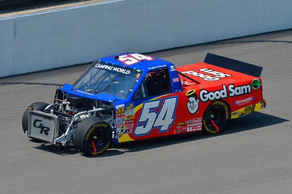 August 16-17, 2013, Brooklyn, Michigan USA Darrell Wallace Jr truck © 2013, Brian Czobat LAT Photo USA