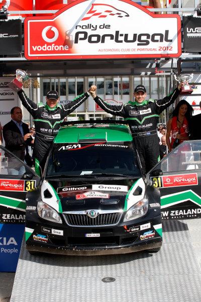 Round 04-Rally Portugal 28/3-1/4 2012. Hayden Paddon, Skoda S2000, PodiumWorldwide Copyright: McKlein/LAT