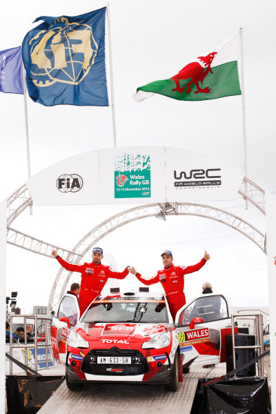 2015 World Rally Championship, Round 13, Rally of Wales GB, 12th - 15th November, 2015 Quentin Gilbert, DS, WRC-3 champion  Worldwide Copyright: McKlein/LAT