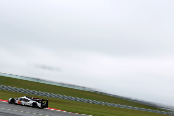 2016 FIA World Endurance Championship, Silverstone 15th-17th April 2016, Timo Bernhard / Mark Webber / Brendon Hartley - Porsche 919 Hybrid World Copyright. Jakob Ebrey/LAT Photographic
