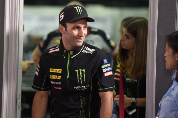 2017 MotoGP Championship - Round 17 Sepang, Malaysia. Thursday 26 October 2017 Johann Zarco, Monster Yamaha Tech 3 World Copyright: Gold and Goose / LAT Images ref: Digital Image 701393