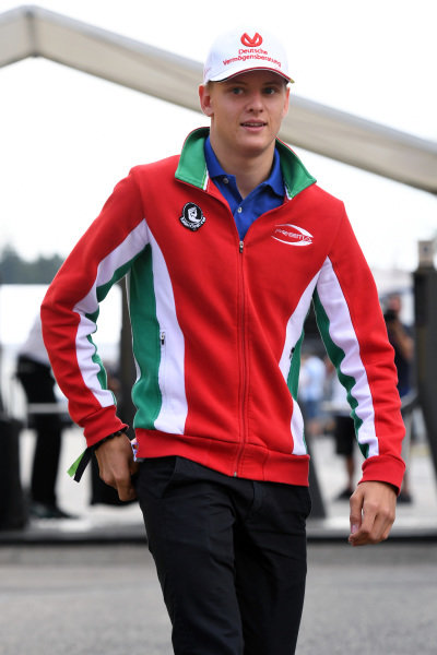 Mick Schumacher (GER) at Formula One World Championship, Rd12, German Grand Prix, Race, Hockenheim, Germany, Sunday 31 July 2016.
