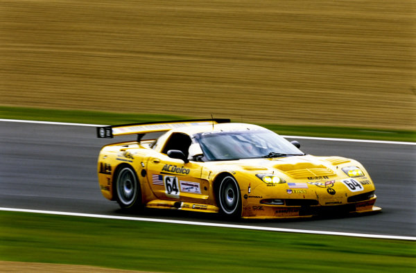 Kelly Collins / Andy Pilgrim / Franck Fréon, Corvette Racing Garry Pratt, Chevrolet Corvette C5-R.
