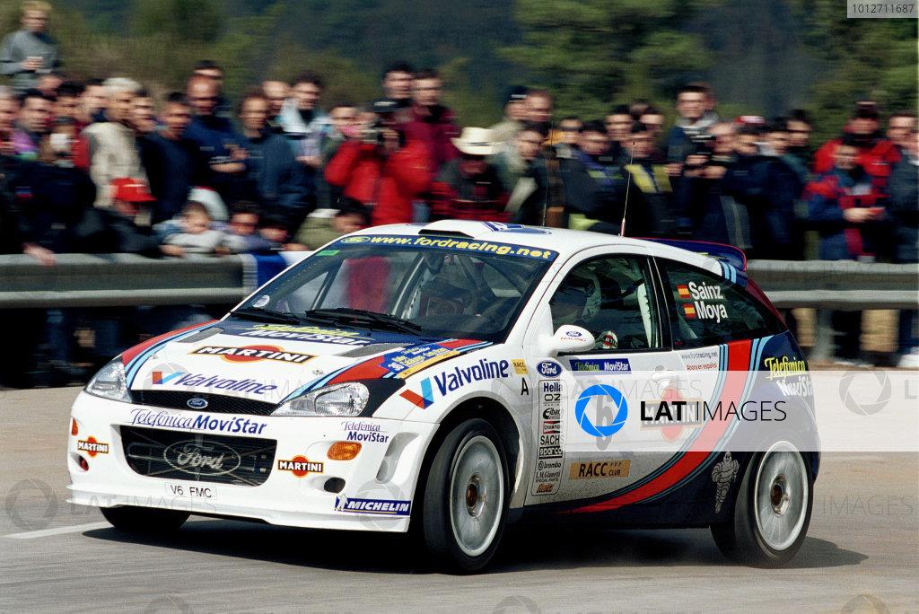 Catalunya 2000 - Carlos Sainz Ford Focus - action