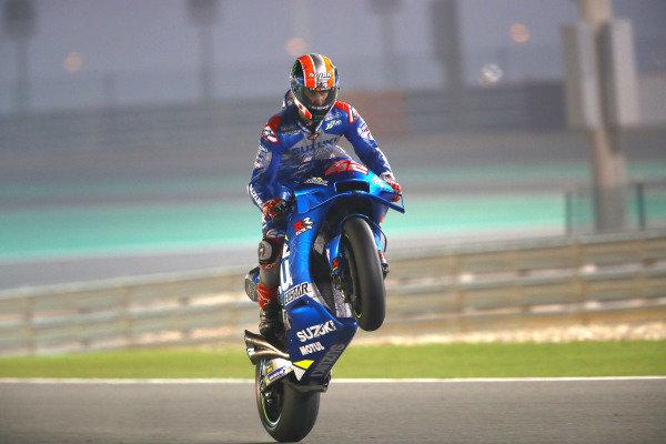 Alex Rins, Team Suzuki MotoGP.