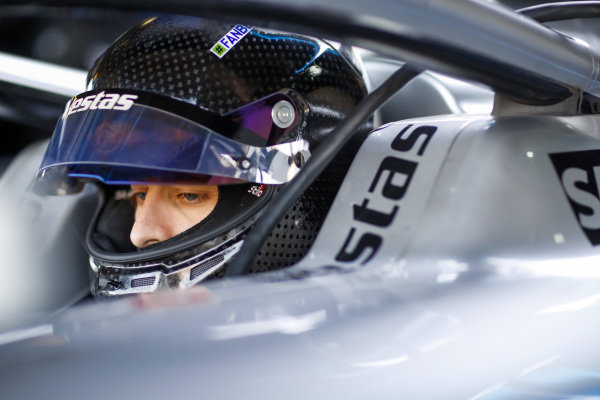 Jake Hughes (GBR), Rookie Test Driver for Mercedes Benz EQ