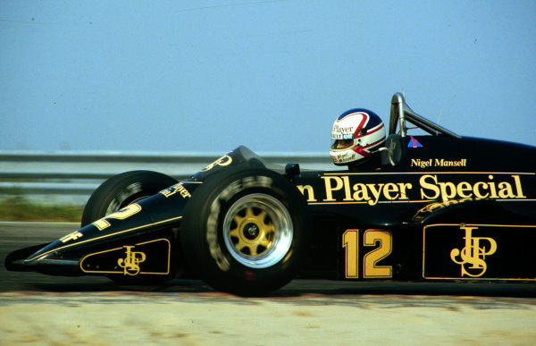 1984 Dutch Grand Prix.