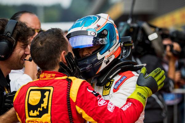 2017 FIA Formula 2 Round 8. Spa-Francorchamps, Spa, Belgium. Sunday 27 August 2017. Nyck De Vries (NED, Racing Engineering).  Photo: Zak Mauger/FIA Formula 2. ref: Digital Image _56I3490