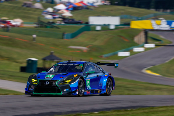 IMSA WeatherTech SportsCar Championship Michelin GT Challenge at VIR Virginia International Raceway, Alton, VA USA Friday 25 August 2017 15, Lexus, Lexus RCF GT3, GTD, Scott Pruett, Jack Hawksworth World Copyright: Jake Galstad LAT Images