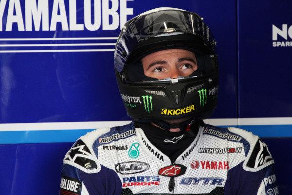 British Grand Prix. Silverstone, England. 10th-12th June 2011. Ben Spies, Yamaha. Portrait. World Copyright: Kevin Wood/LAT Photographic. ref: Digital Image