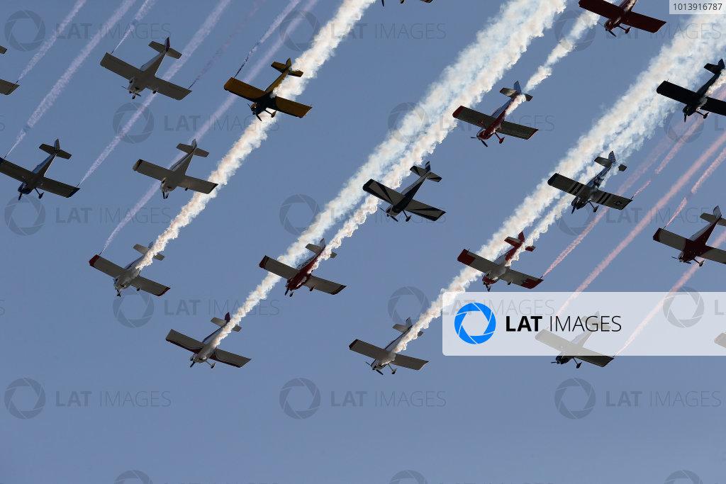 11-A Flyover © 2013, Michael L. Levitt LAT Photo USA