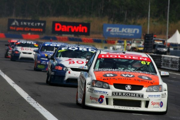 Paul Morris, (aust) Sirromet Commodore finished in the points in all 3 races for the first time this season