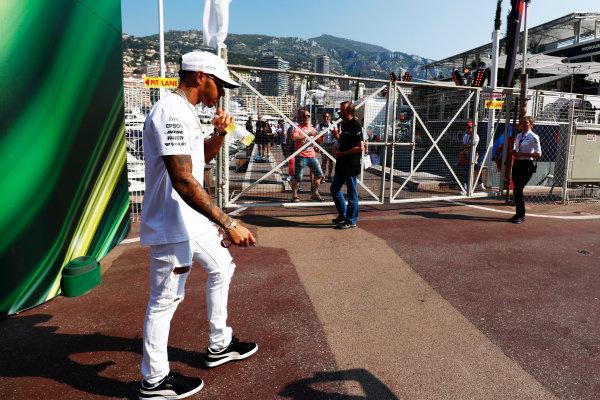 Monte Carlo, Monaco. Sunday 28 May 2017. Lewis Hamilton, Mercedes AMG.  World Copyright: Zak Mauger/LAT Images ref: Digital Image _J6I3440