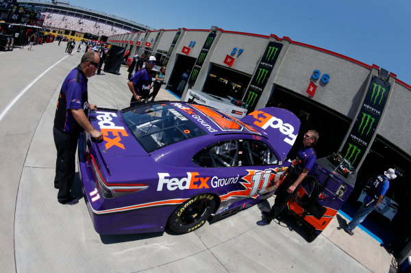 Monster Energy NASCAR Cup Series Monster Energy NASCAR All-Star Race Charlotte Motor Speedway, Concord, NC USA Friday 19 May 2017 Denny Hamlin, Joe Gibbs Racing, FedEx Ground Toyota Camry World Copyright: Matthew T. Thacker LAT Images ref: Digital Image 17CLT1mt1206