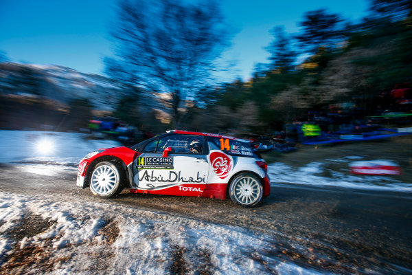 2017 FIA World Rally Championship,  Round 01, Rally Monte Carlo,  January 18-22, 2017,  Craig Breen/Scott Martin (DS3 WRC) Worldwide Copyright: McKlein/LAT