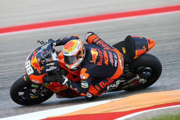 2017 Moto2 Championship - Round 3 Circuit of the Americas, Austin, Texas, USA Friday 21 April 2017 Ricard Cardus, Red Bull KTM Ajo World Copyright: Gold and Goose Photography/LAT Images ref: Digital Image Moto2-500-2149