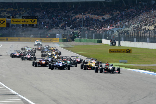 2014 FIA European F3 Championship Round 2 - Hockenheim, Germany 3rd - 4th April start race 2 World Copyright: XPB Images / LAT Photographic  ref: Digital Image 3081973_HiRes