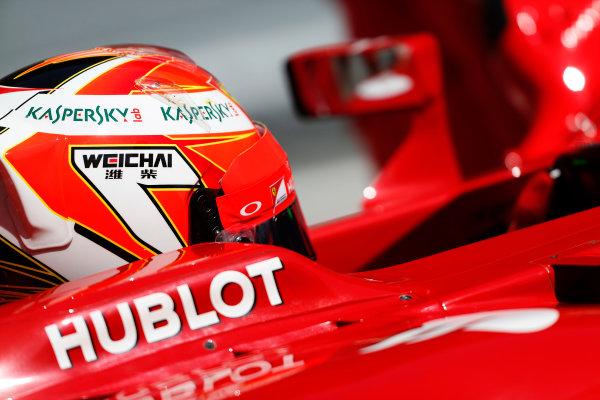 Circuit de Catalunya, Barcelona, Spain. Wednesday 14 May 2014. Kimi Raikkonen, Ferrari. World Copyright: Sam Bloxham/LAT Photographic. ref: Digital Image _SBL0409