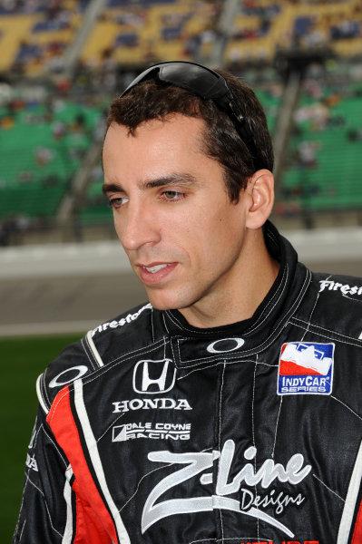 Justin Wilson (GBR), Dale Coyne Racing.IndyCar Series, Rd3, Road Runner Turbo 300, Kansas Speedway, Kansas, USA. 25-26 April 2009.