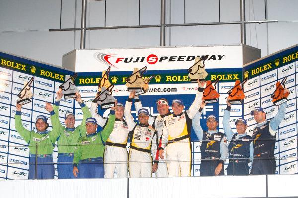 Fuji Speedway, Japan, 12th-14th October, 2012,GT AM PodiumWorld Copyright Ebrey/LAT Photographic