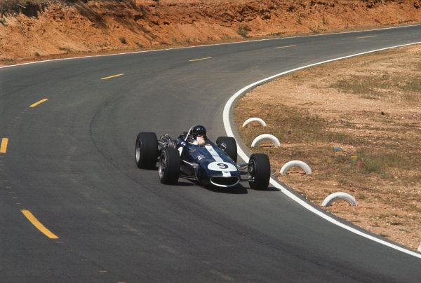 Bugatti Circuit, Le Mans, France. 30/6-2/7 1967.  Dan Gurney (AAR/Eagle T1G Weslake).  Ref: 67FRA01. World Copyright: LAT Photographic