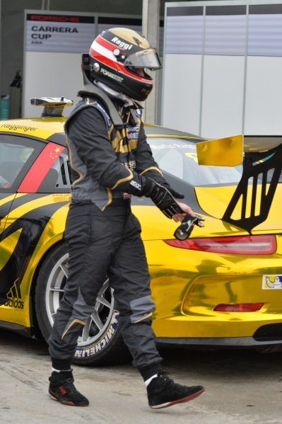 Martin Ragginger (AUT) Team Porsche Holding. Porsche Carrera Cup Asia, Sepang, Malaysia, 28-30 March 2014.