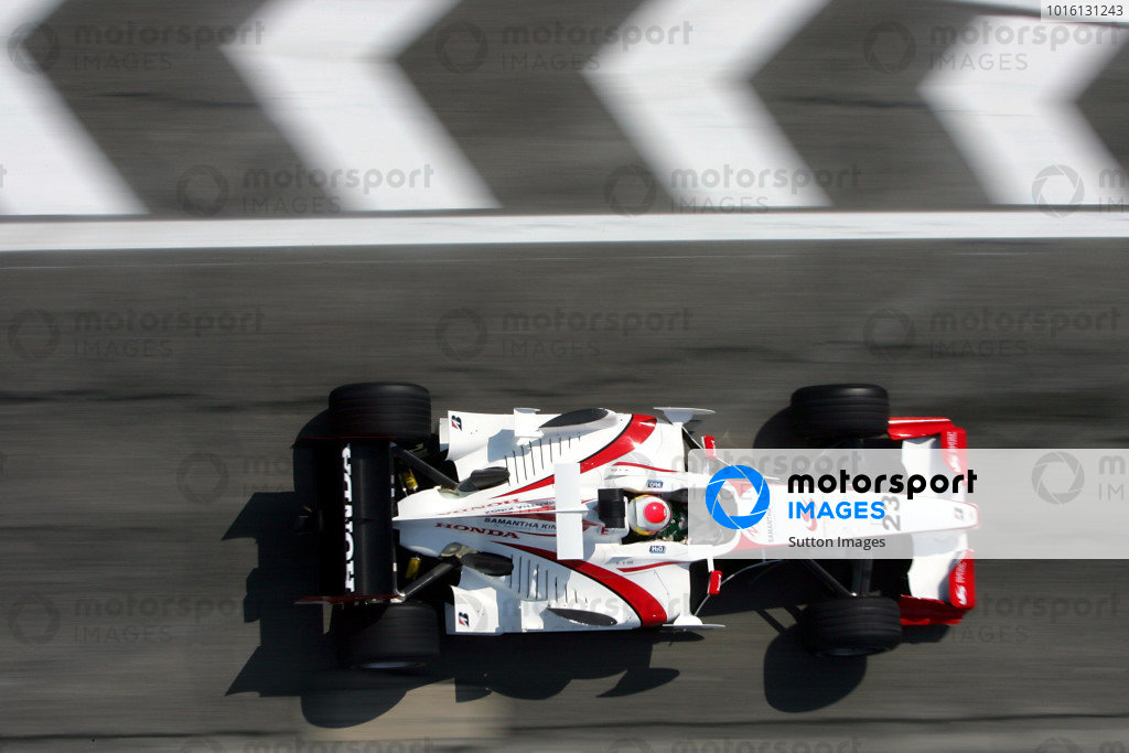 Yuji Ide (JPN) Super Aguri F1 SA05. Formula One World Championship, Rd4, San Marino Grand Prix, Practice Day, Imola, Italy, 21 April 2006. DIGITAL IMAGE BEST IMAGE