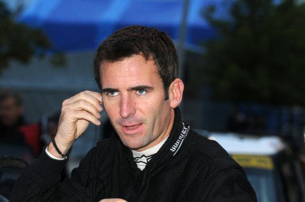 Romain Dumas (FRA). FIA World Rally Championship, Rd11, Rallye De France, Strasbourg, Alsace, France, Shakedown, Thursday 4 October 2012.