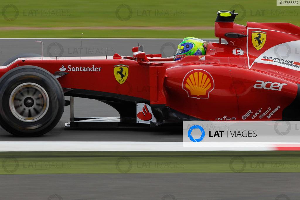 Silverstone, Northamptonshire, England7th July 2012Felipe Massa, Ferrari F2012. World Copyright:Andrew Ferraro/LAT Photographicref: Digital Image _Q0C3924