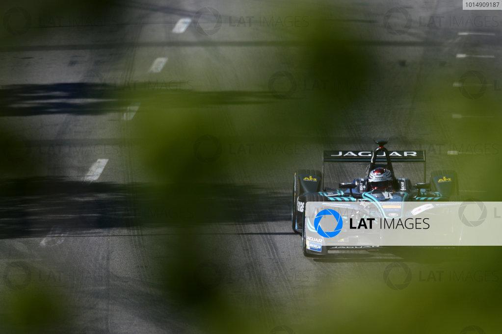 2016/2017 FIA Formula E Championship. Round 12 - Montreal ePrix, Canada Sunday 1 January 2012. Adam Carroll (GBR), Jaguar Racing, Spark-Jaguar, Jaguar I-Type 1. Photo: Patrik Lundin/LAT/Formula E ref: Digital Image PL1_3199 copy