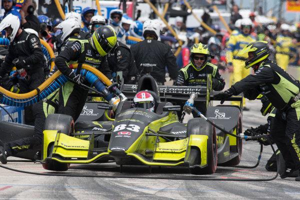 Verizon IndyCar Series Kohler Grand Prix Road America, Elkhart Lake, WI USA Sunday 25 June 2017 Charlie Kimball, Chip Ganassi Racing Teams Honda World Copyright: Geoffrey M. Miller LAT Images