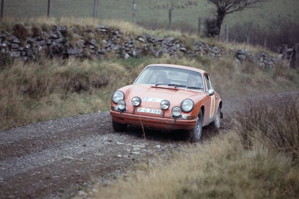 1968 RAC Rally.