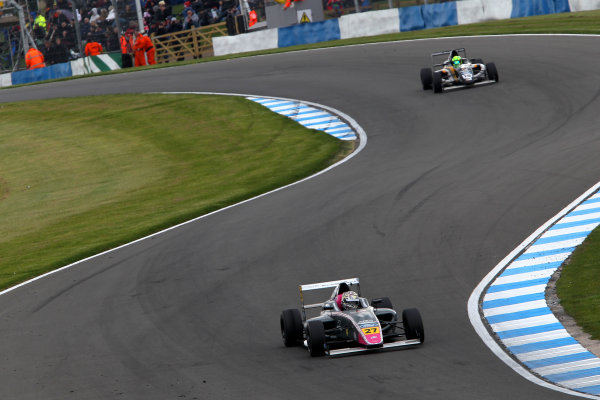 2015 MSA Formula Powered by Ford EcoBoost, Donington Park, Leicestershire. 16th - 19th April 2015. Daniel Ticktum (GBR) Fortec Motorsports MSA Formula, World Copyright: Ebrey / LAT Photographic.