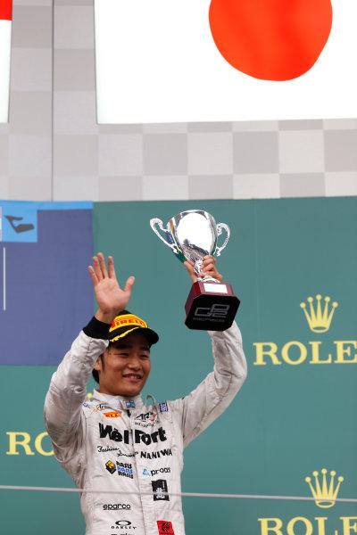 2015 GP2 Series Round 4. Red Bull Ring, Spielberg, Austria. Sunday 21 June 2015. Nobuharu Matsushita (JPN, ART Grand Prix)  Photo:  Alastair Staley/GP2 Media Service ref: Digital Image _79P8752
