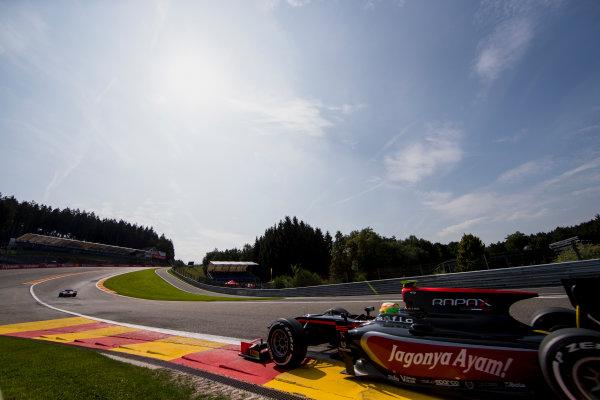 2017 FIA Formula 2 Round 8. Spa-Francorchamps, Spa, Belgium. Friday 25 August 2017. Roberto Merhi (ESP, Rapax).  Photo: Zak Mauger/FIA Formula 2. ref: Digital Image _54I0269