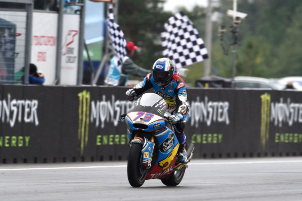 2017 Moto2 Championship - Round 10 Brno, Czech Republic Sunday 6 August 2017 Second place Alex Marquez, Marc VDS World Copyright: Gold and Goose / LAT Images ref: Digital Image 50867
