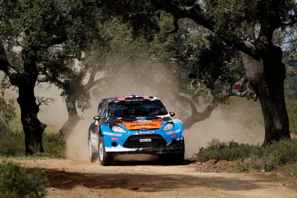 Round 04-Rally Portugal 28/3-1/4 2012. Mads Ostberg, Ford WRC, ActionWorldwide Copyright: McKlein/LAT