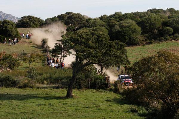 Round 12, Rally d'Italia Sardinia 201218th - 21st October 2012Sebastien Loeb, Citroen, actionWorldwide Copyright: McKlein/LAT