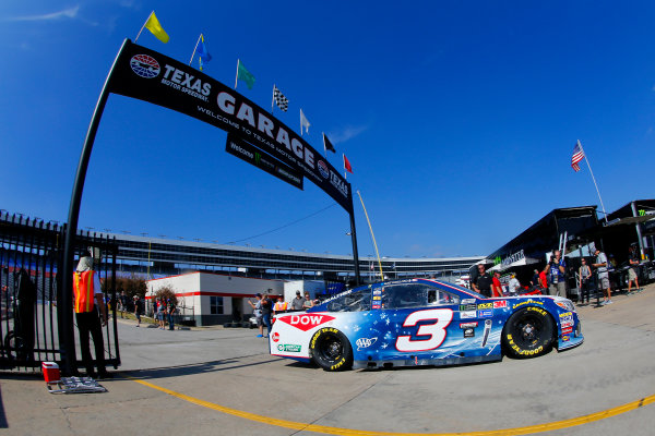 Monster Energy NASCAR Cup Series AAA Texas 500 Texas Motor Speedway Fort Worth, TX USA Saturday 4 November 2017 Austin Dillon, Richard Childress Racing, Winter in PyeongChang Chevrolet SS World Copyright: Russell LaBounty LAT Images