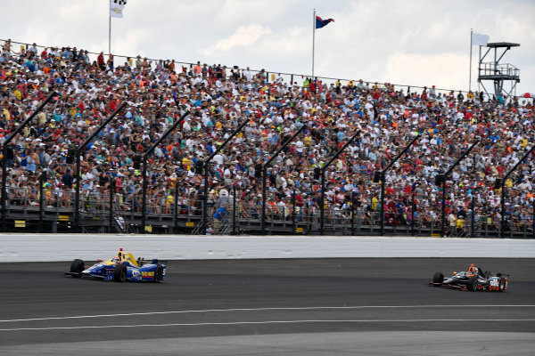 29 May, 2016, Indianapolis, Indiana, USA Alexander Rossi, Alex Tagliani ?2016, Scott R LePage  LAT Photo USA