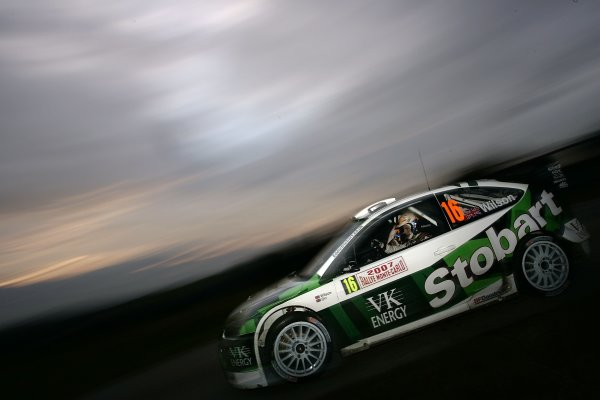 2007 FIA World Rally ChampionshipRound 1Rallye Monte Carlo18th-21st January 2007Matthew Wilson, Ford Action.Worldwide Copyright: McKlein/LAT
